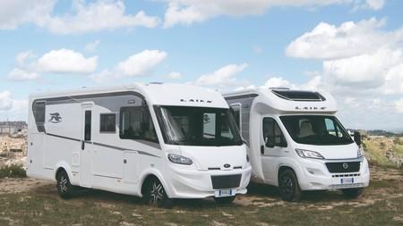 Il existe différents types de camping cars ici un classique profilé et un avec capucine