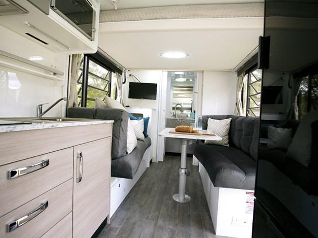 Un aménagement bien pensé pour le camping-car Avida Leura
