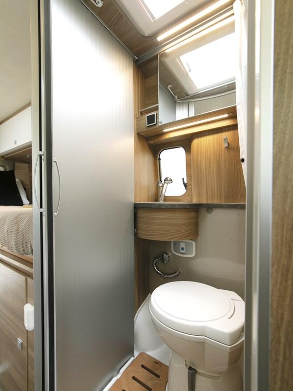 Cabinet de toilette du van Carado Vlow 600