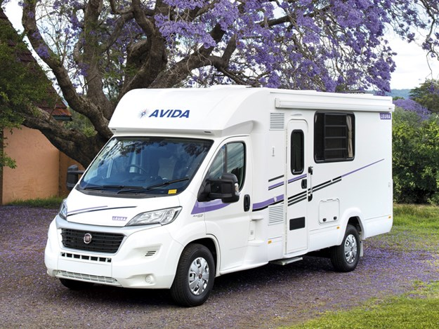 camping-car Avida Leura vu de 3/4 avant