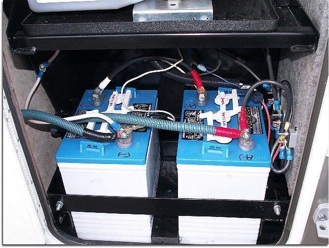 Batteries camping car