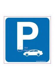 Parking réservé aux voitures
