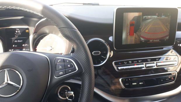 Sécurité de la caméra de classe V dans le Mercedes Benz Marco Polo