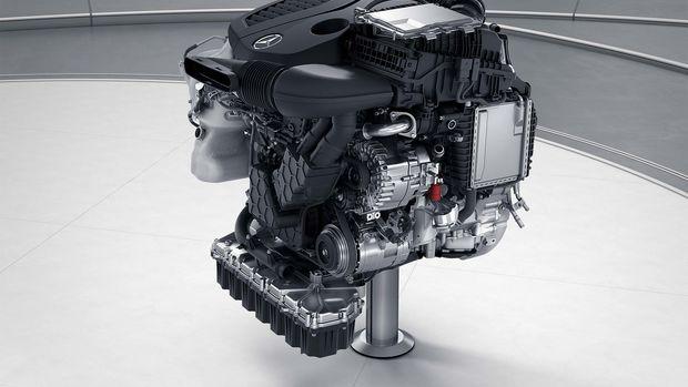Le moteur OM 655 de 239 cv du Mercedes Benz Marco Polo