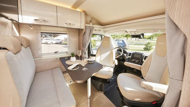Le Bürstner Nexxo Van avec son salon très sympa