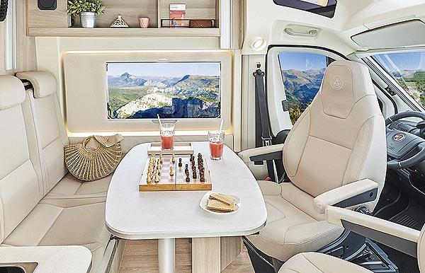 Camping-cars Dreamer : le salon du Camper van xl