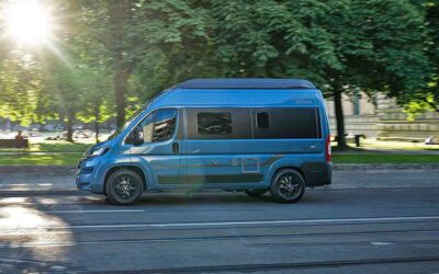 Hymer Free 540 Blue Evolution (2021) : camping-car court pour 4
