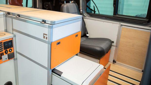 Terracamper Terock et son mobilier modulaire